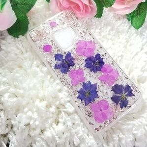 Accessories - Real Flowers Galaxy S9 Case